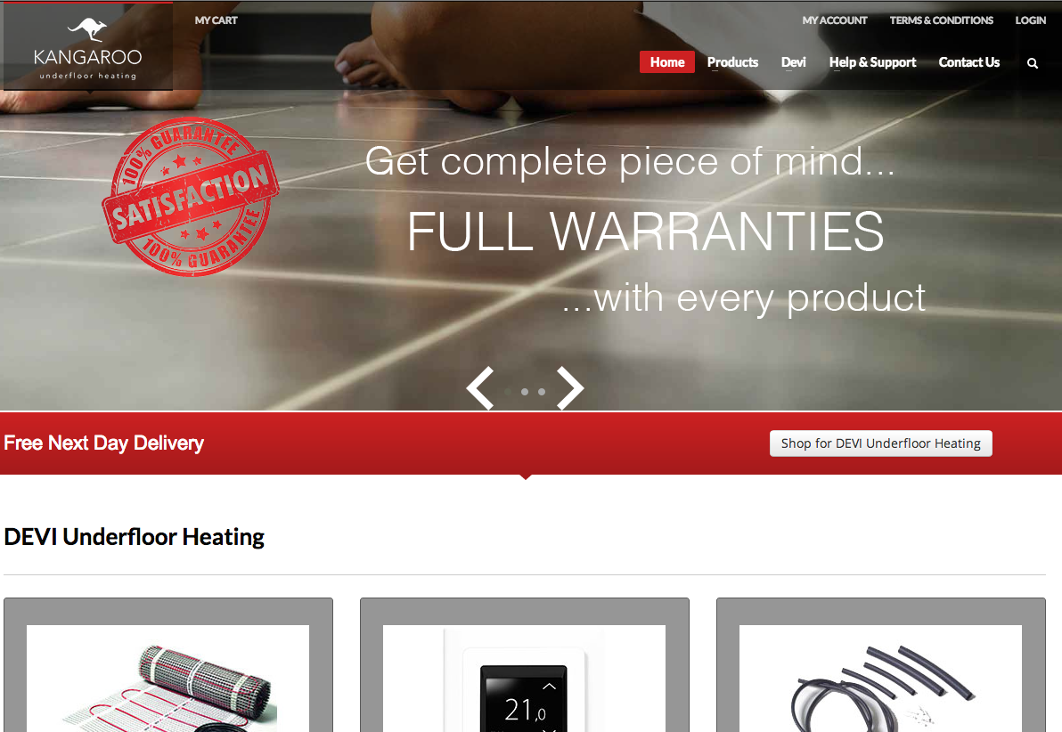 Read Kangaroo Underfloor Heating Reviews