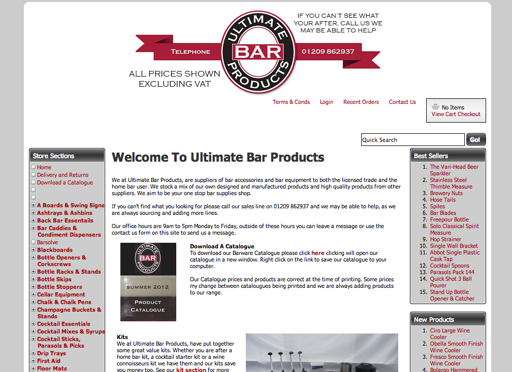 Read Ultimate Bar Products Reviews