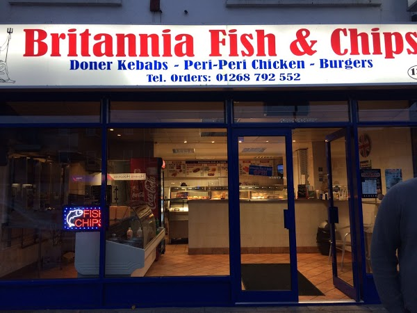 Read Britannia Fish Bar, Essex Reviews