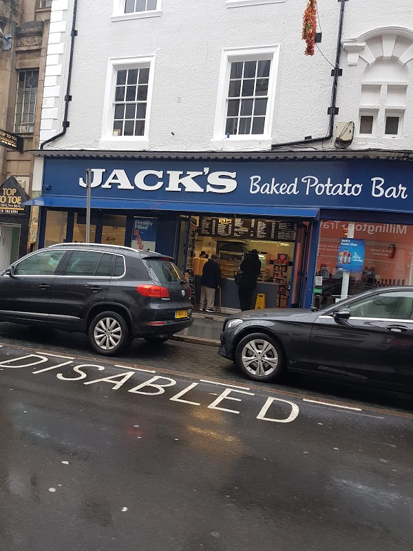 Read Jacks Baked Potato Bar, Leicester Reviews