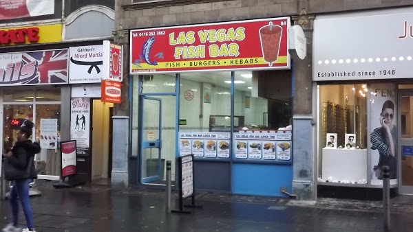 Read Las Vegas Fish Bar, Leicester Reviews