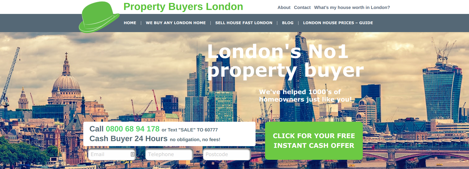 Read Property Buyers London Reviews