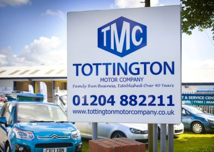 Read Tottington Motor Company Reviews