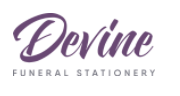 Read Devine Funeral Stationery Reviews